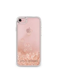 Rebecca Minkoff Glitterfall Peace Sign Iphone 7 Case Rose Gold