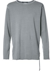 Ksubi Plain Sweatshirt Grey
