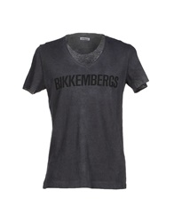 Bikkembergs T Shirts Grey
