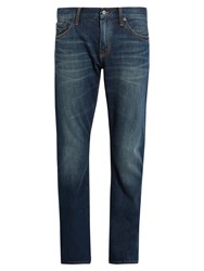 Jean Shop Mick Tapered Leg Jeans Dark Blue