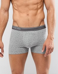 Selected Homme Dot Print Trunk Grey