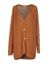 Massimo Alba Knitwear Cardigans Women Brown