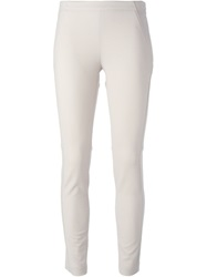 Brunello Cucinelli Skinny Trousers Nude And Neutrals
