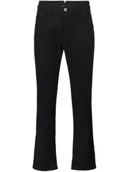 Junya Watanabe Comme Des Garcons Man Pinstripe Patch Pocket Jeans Black