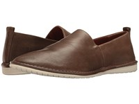 Frye Kyle Slip On Charcoal Smooth Antique Pull Up Slip On Shoes Brown