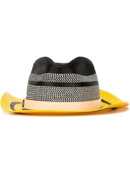 Etro Striped Colour Block Hat Black