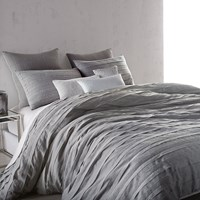Dkny Loft Stripe Duvet Cover Grey