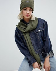 Cheap Monday City Scarf Protest Green