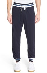 Men's Boss 'Authentic' Knit Cotton Lounge Pants Dark Blue