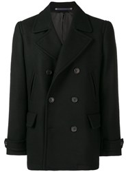 Paul Smith Ps By Classic Double Breasted Coat Black
