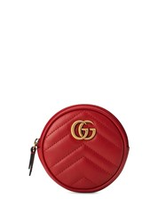 Gucci Gg Marmont Coin Purse Red