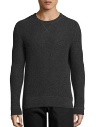 Polo Ralph Lauren Waffle Knit Cashmere Pullover Gina Grey