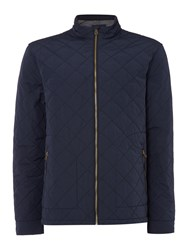 Criminal Dawson Quilt Jacket Navy