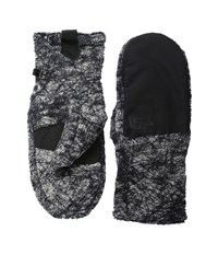 The North Face Denali Thermal Mitt Tnf Black Marble Print Prior Season Extreme Cold Weather Gloves