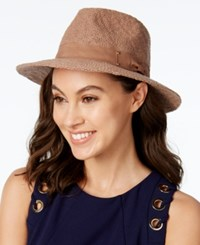 Inc International Concepts Packable Panama Hat Only At Macy's Camel