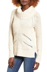 Love By Design Women's Marled Cowl Neck Pullover