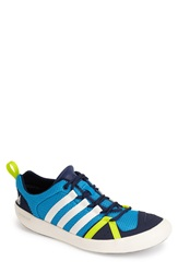 Adidas 'Climacool Boat Lace' Water Shoe Men Solar Blue Chalk White Navy