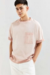 Cpo Boxy Cropped Tee Pink