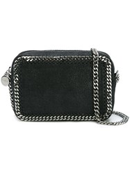 Stella Mccartney 'Falabella' Top Zip Crossbody Bag Black