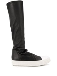 Rick Owens Stretch Fit Knee High Boots 60