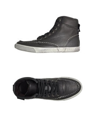 Scout High Top Sneakers Black