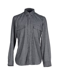 French Connection Shirts Shirts Men Grey