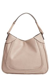 Sole Society Rema Faux Leather Shoulder Bag Grey