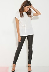 Forever 21 Minty Meets Munt Beauty Tee White