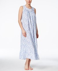 Eileen West Paisley Print Nightgown