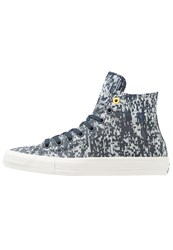 Converse Chuck Taylor All Star Ii Hightop Trainers Obsidian Buff Bitter Lemon Grey