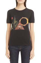 Givenchy Women's Cactus Print Cotton Tee