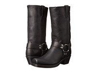 Frye Harness 12R Black Washed Oiled Vintage Women's Pull On Boots