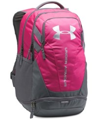 Under Armour Hustle Storm Backpack Black Mint