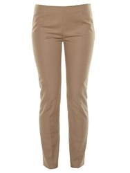 The Row Soroc Stretch Cotton Trousers Brown