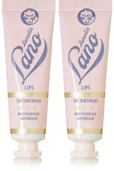 Lano Lips Hands All Over 101 Ointment Multipurpose Superbalm 2 X 15G Colorless