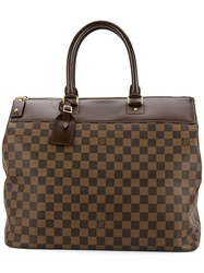 Louis Vuitton Vintage Greenwich Pm Tote Brown