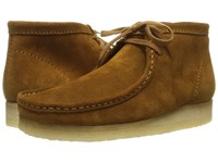 Clarks Wallabee Boot Bronze Suede Men's Lace Up Boots
