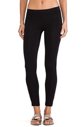 Velvet By Graham And Spencer Swoosie Cotton Lycra Legging Black