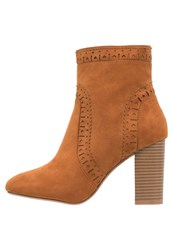 Dorothy Perkins Acorn Ankle Boots Brown