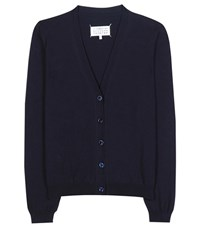 Maison Martin Margiela Cotton Cardigan Blue
