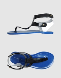 Studio Pollini Thong Sandals Black