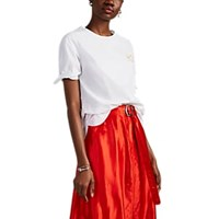 Maison Labiche Dragonfly Embroidered Cotton Poplin Blouse White