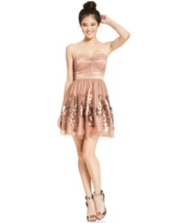 Hailey Logan By Adrianna Papell Juniors' Tulle Sequin Dress