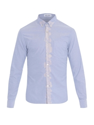 Tomas Maier Oxford Bleach Detail Cotton Shirt