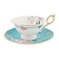 Wedgwood Wonderlust Teacup And Saucer Blossom