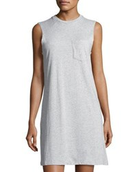 The Fifth Label Drifted Jersey Shift Dress Gray