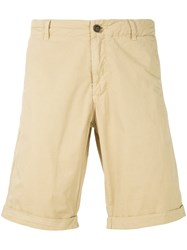 Woolrich Zip Fastened Shorts Nude And Neutrals