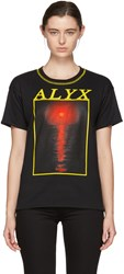 Alyx Reversible Black Red Sun T Shirt