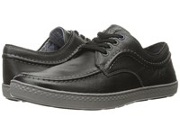 Hush Puppies Teague Roadcrew Black Leather Men's Lace Up Casual Shoes