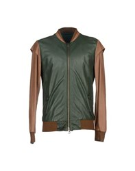 Yes London Coats And Jackets Jackets Men Green